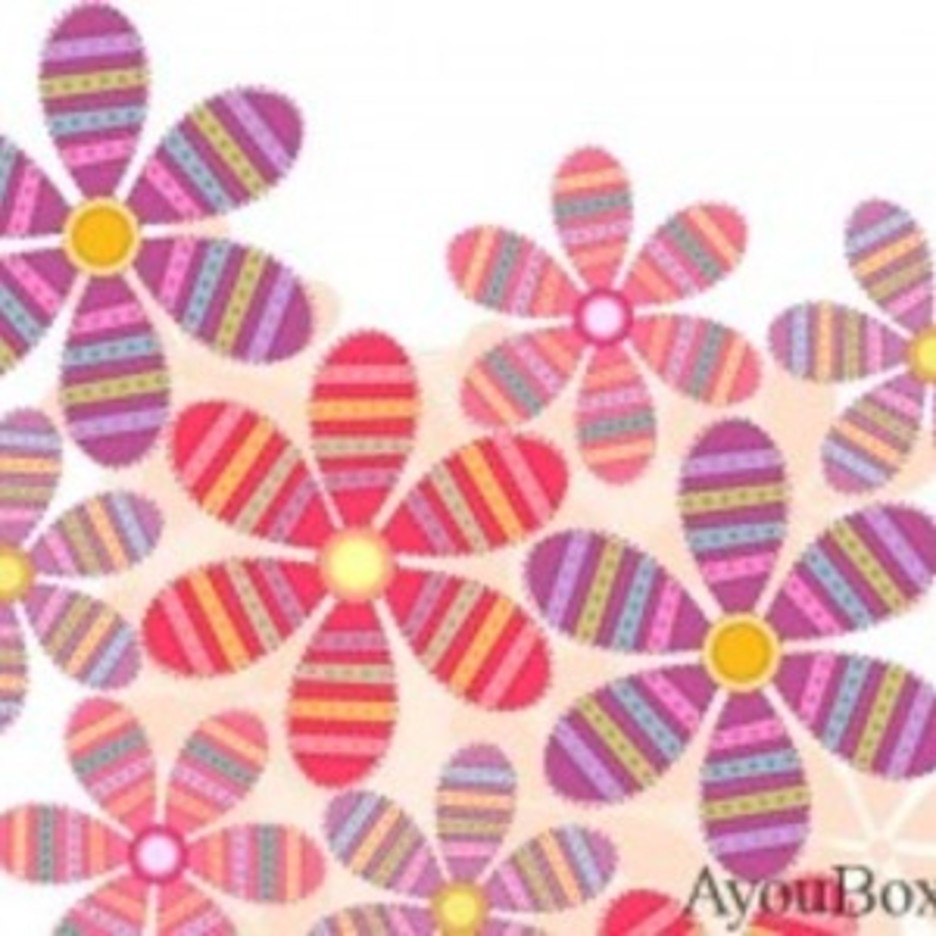 Free Flower Vector Background3