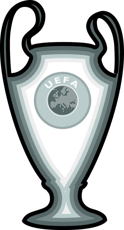 UEFA Champions LEague Trophy Vector