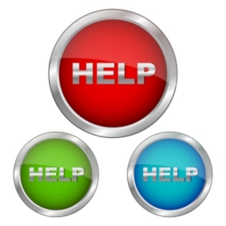 Set Of Help Icons