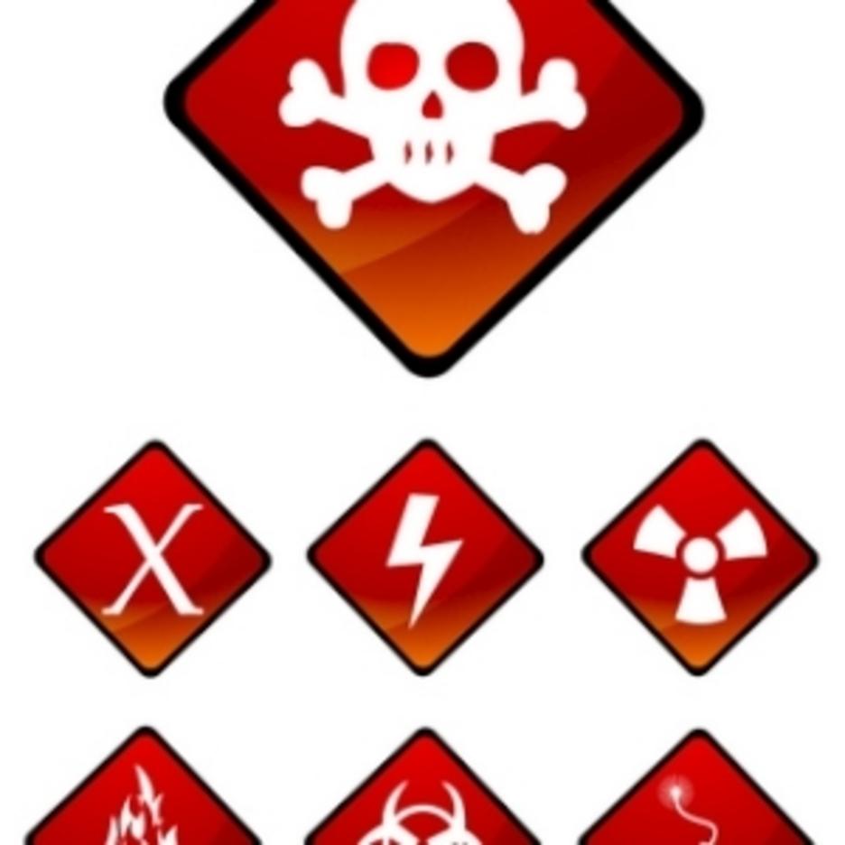 Warning Sign Icons