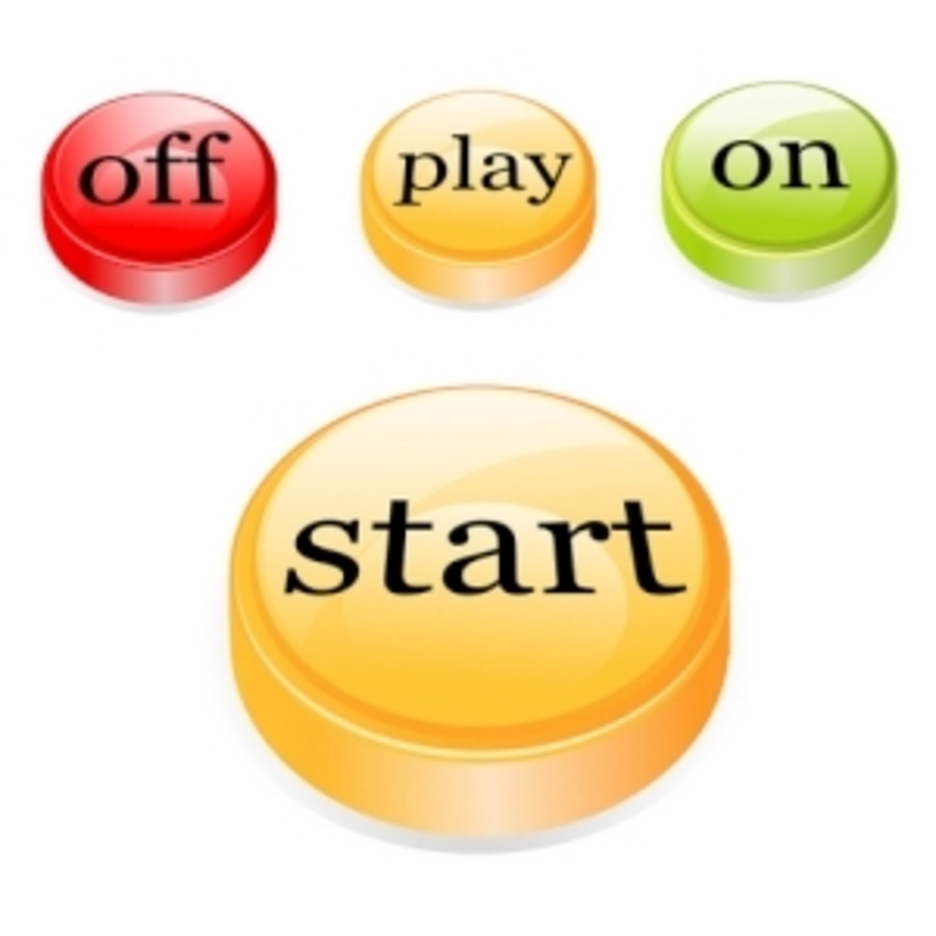 Set Of Various Buttons