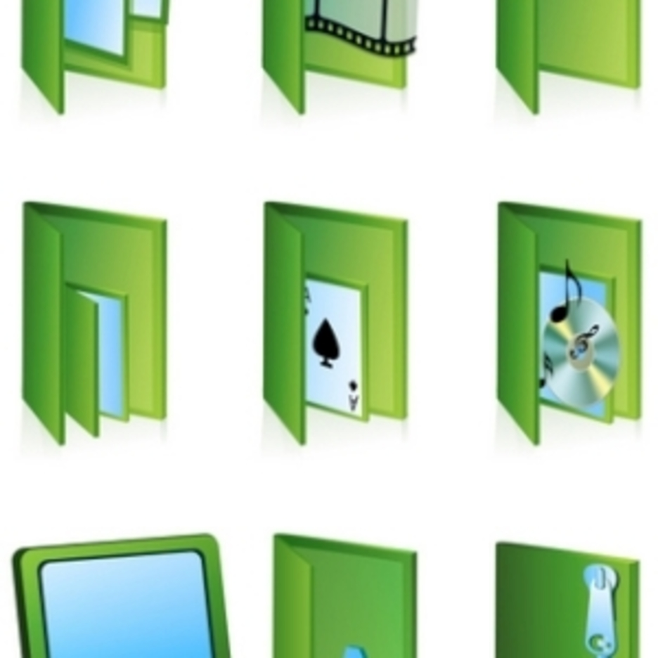 Different Folder Icons