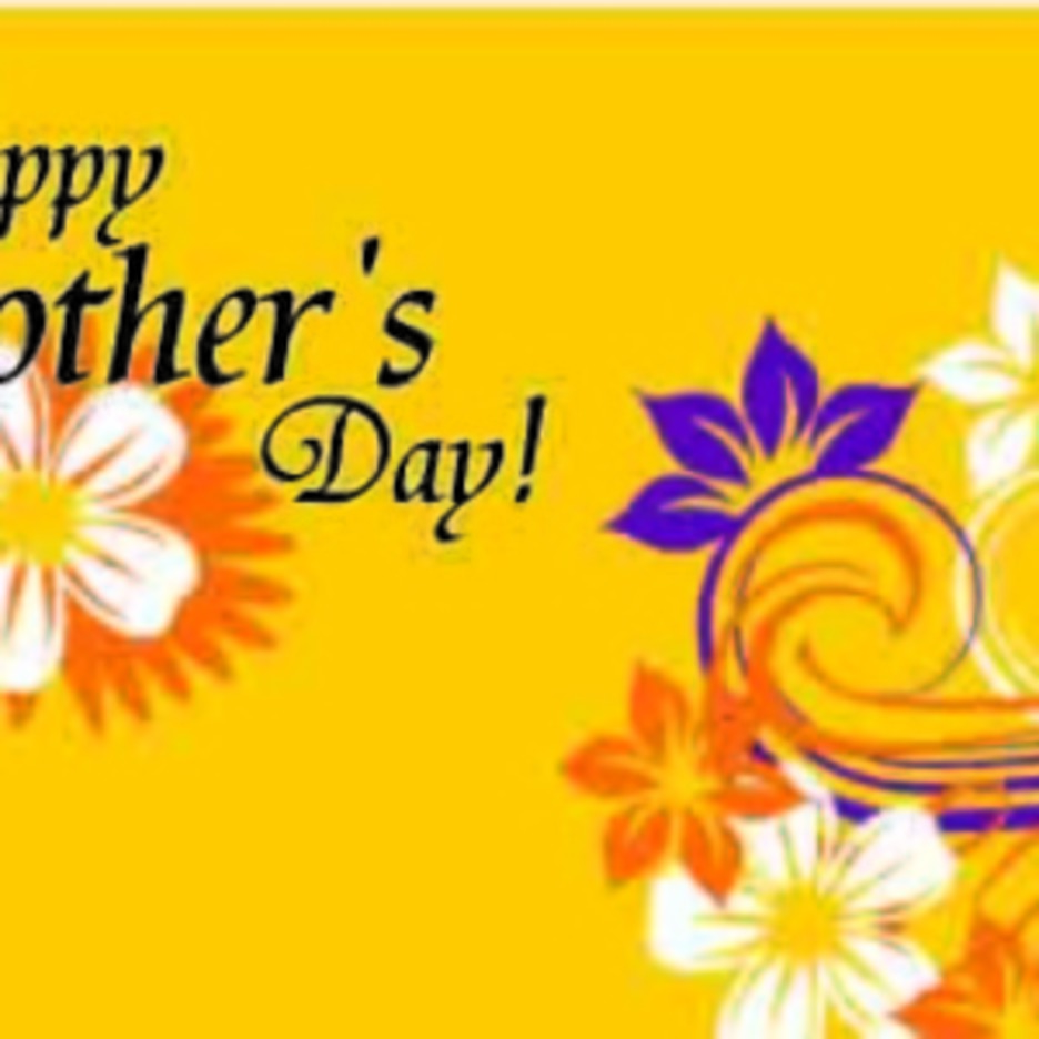 HAPPY MOTHER'S DAY FLOWER VECTOR