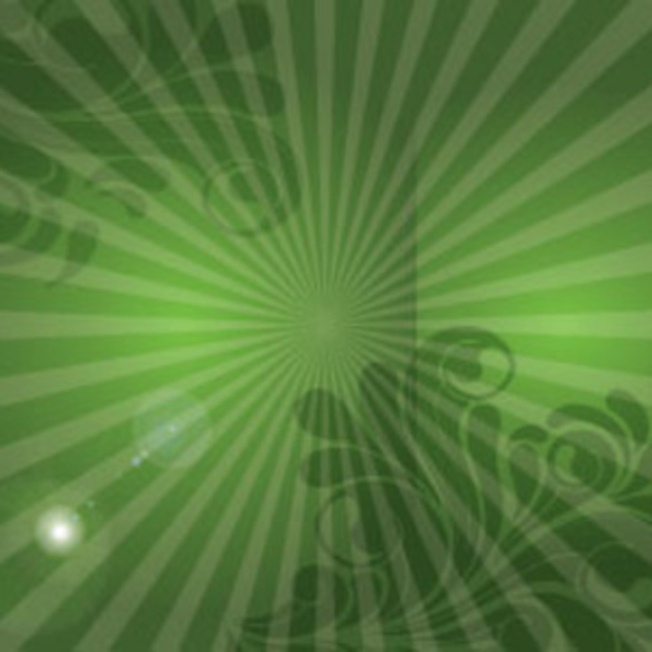 SWirly Abstract Lines In Green Design