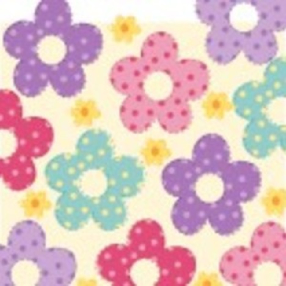 Free Flower Vector Background1e