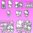 Hello Kitty Vector Collection