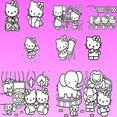 Hello Kitty Vector Collection