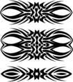 Tribal Vector Shapes Set