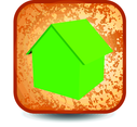 Grunge Home Button
