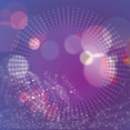 Abstract White Circle In Blue Purple Vector