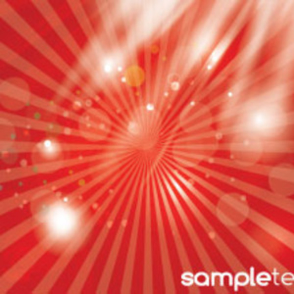 Abstracts Transparent Design In Red Shining Vector