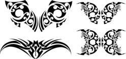 Tribal Vector Shapes