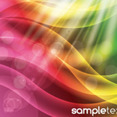 Coloreful Background With Abstract Shinning Line