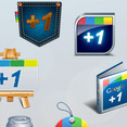 Google +1 Original Free Icons