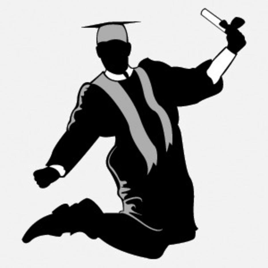 Free Graduate Silhouette