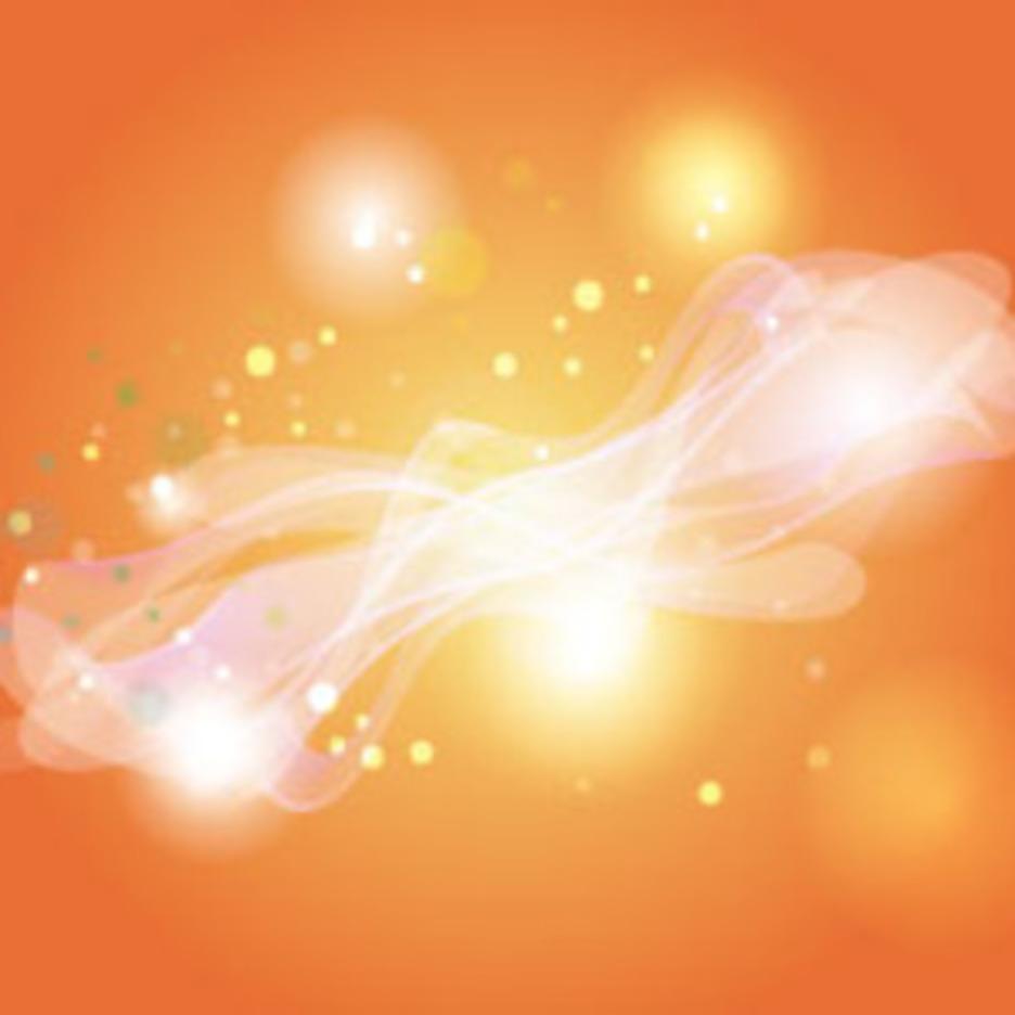 Orangy Background Glowing Wonderful Background