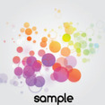 Colored Bocha In Gris Background Free Vector