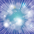 Free Abstract Blue Background With Shining Light