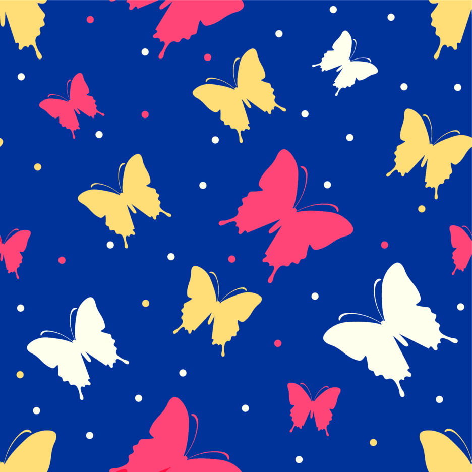 Butterflies Vector Background