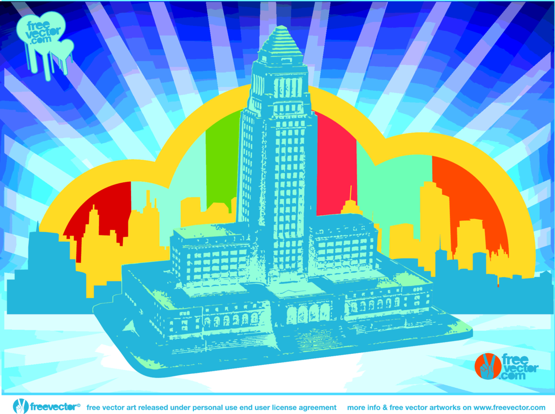 City Hall Vector