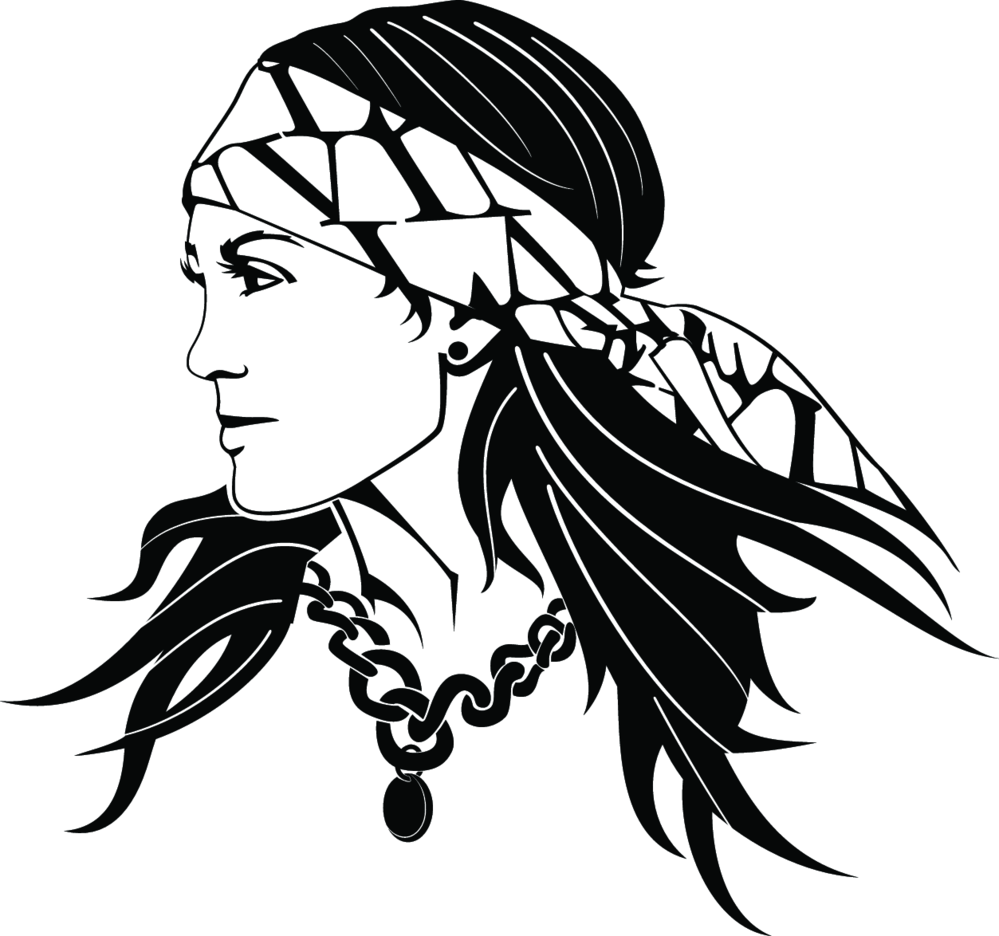 Gypsy Woman Vector 2