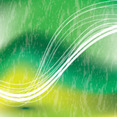 Green Abstract Vector With Two Lines
