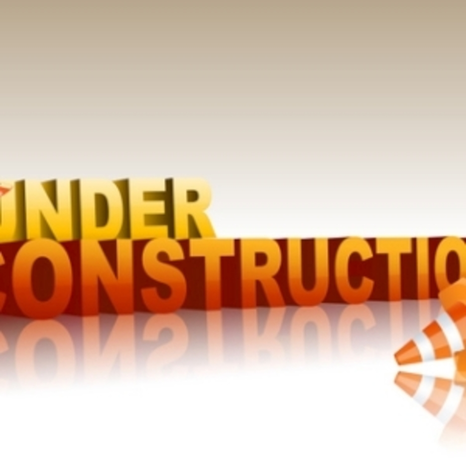 Under Construction Text