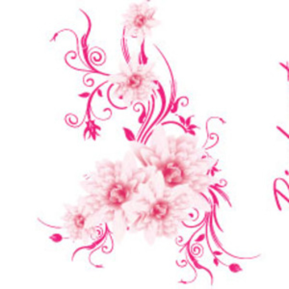 The Pink Art Free Lovely Vector