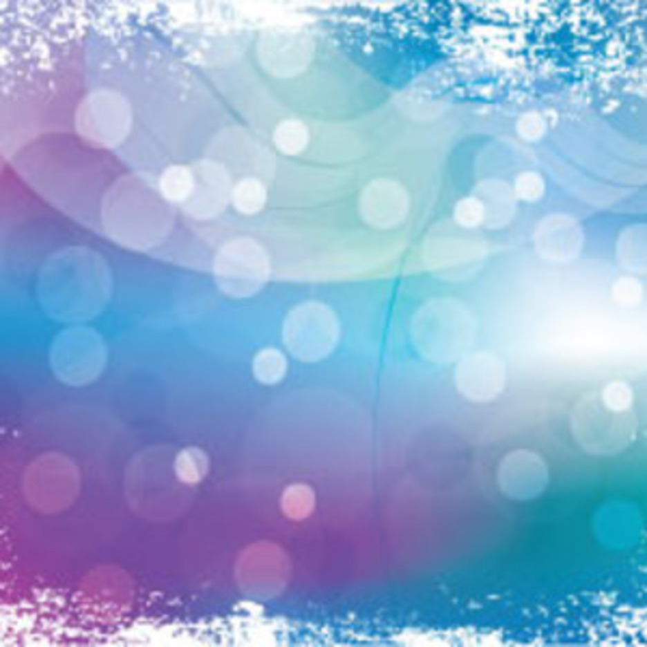 Abstract Grungy Blue Purpled Graphic
