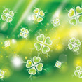 Wonderful Green Flowers Free Vector Graphic