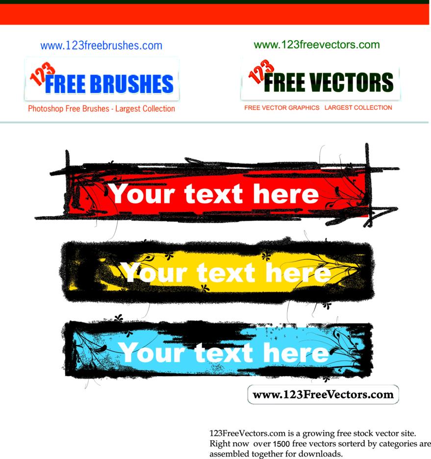 Grunge Text Banner-2