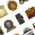 50 Exclusive Vintage Web Icons For FREE!