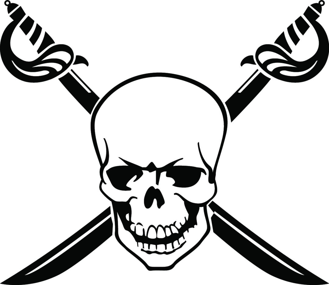 Skull Free Vector 4
