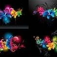Color Abstract Flowers
