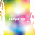 Colored Sample Abstract Vector Background