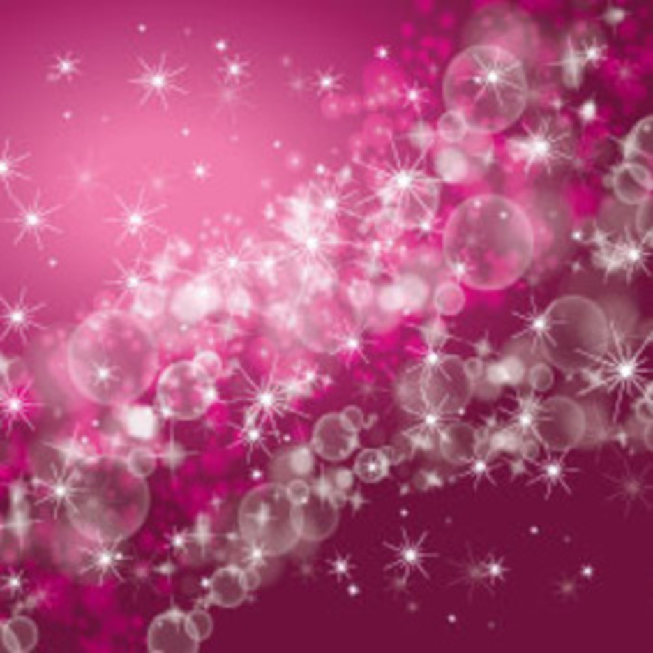 Waves Of Bubbles Purple Bokeh Vector