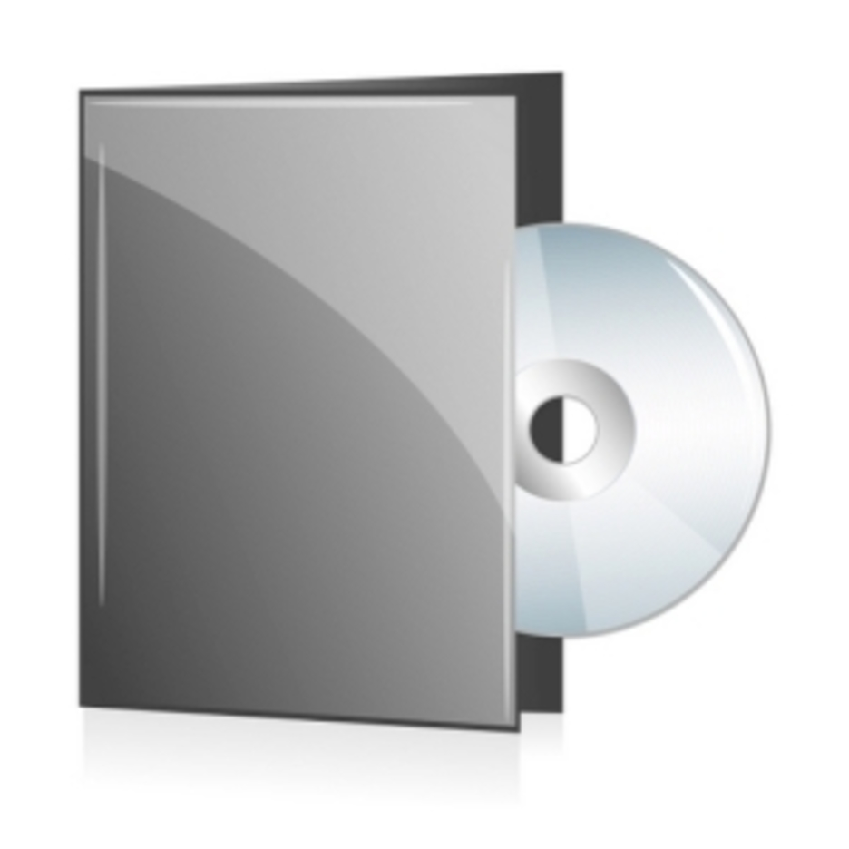 Disc In Grey Cover