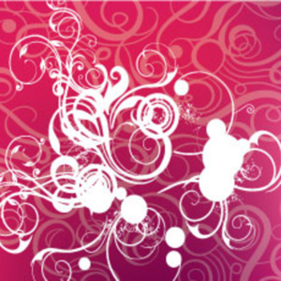 Swirls Patterns In Viollet Background