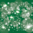 Greeny Retro Stars Vector Background
