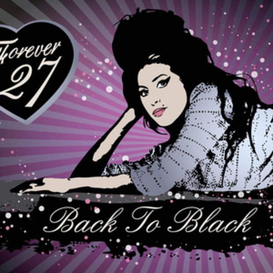 Amy Winehouse Vector Art
