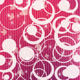 Retro Circle Vector Lineled Background