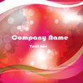Grungy Company Card Free Vector