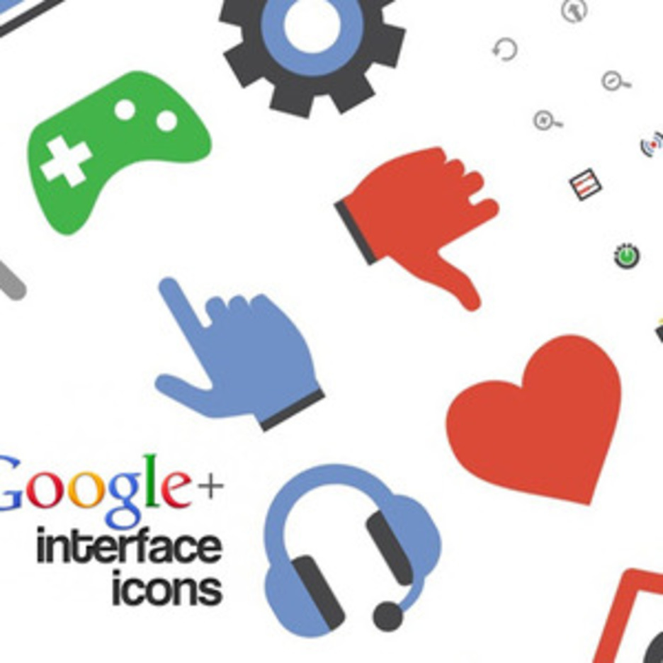 Google Plus Free Interface Icons