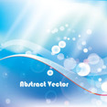 Blue Vector Free Abstract Graphic