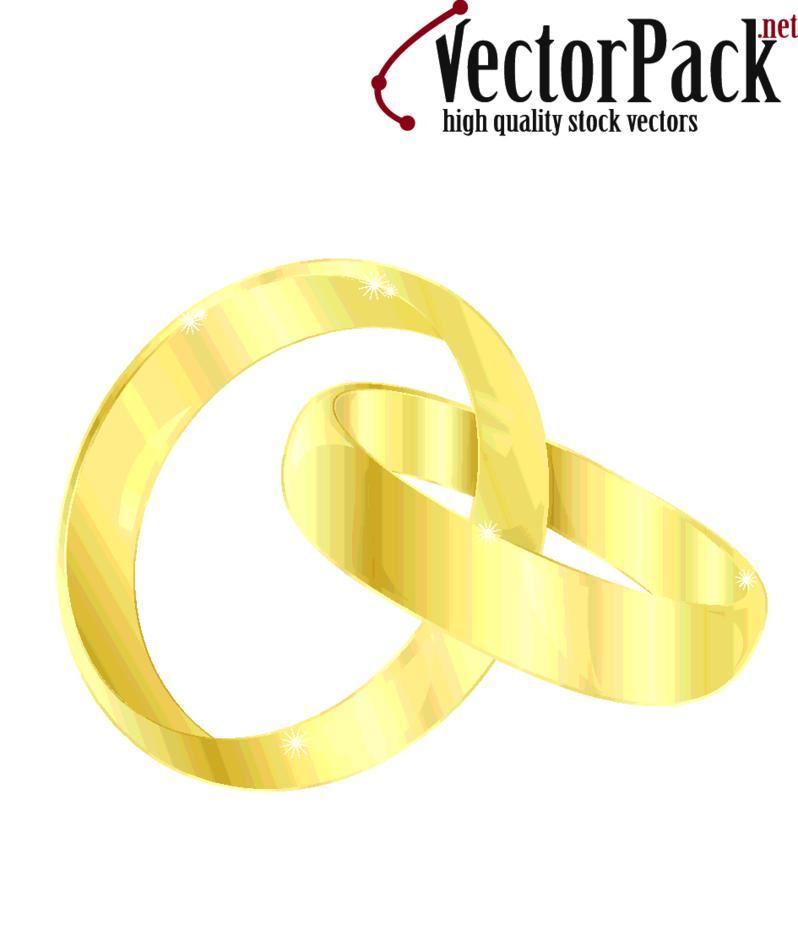 Free Wedding Rings Vector
