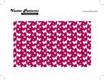 Summer Butterfly Free Vector Pattern