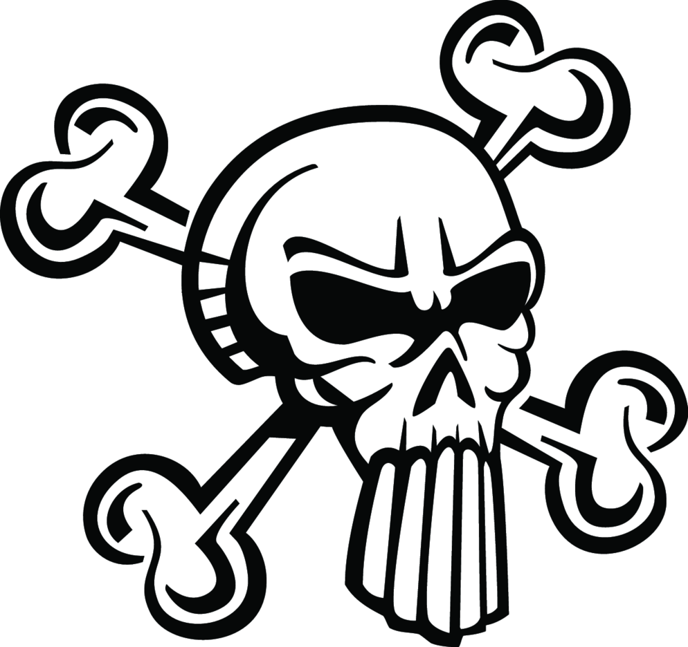 Skull Extreme Vector