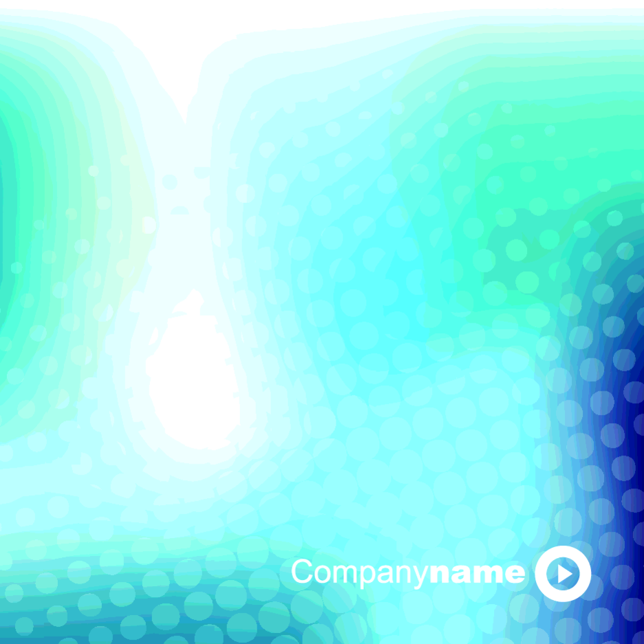 Blue Business Halftone Background