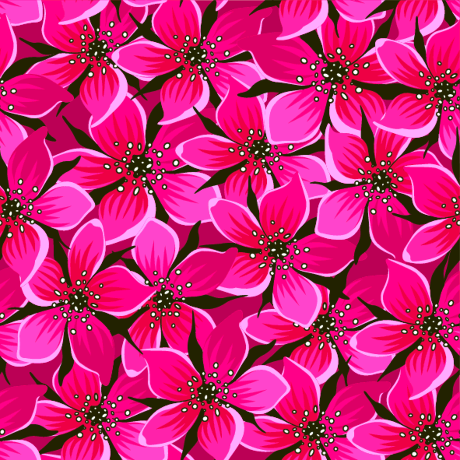 Red Flower Pattern