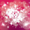 Pinked Red Stars Holiday Vector